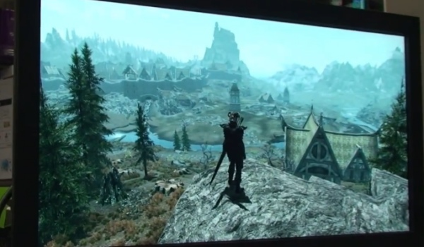 Skyrim on 4K TV shows graphics leap