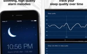 Sleep Cycle alarm clock for perfect sleep