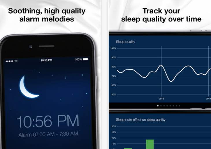 Sleep Cycle alarm clock for perfect sleep