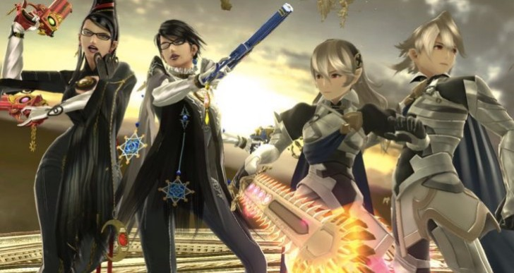 Smash Bros update 1.1.4 patch notes for Corrin, Bayonetta