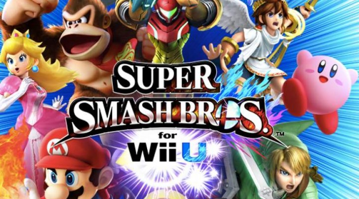 Super Smash Bros Wii U preload with download code