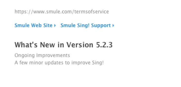smule-app-update