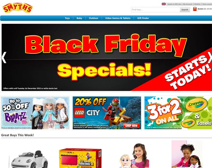 smyths-toys-black-friday