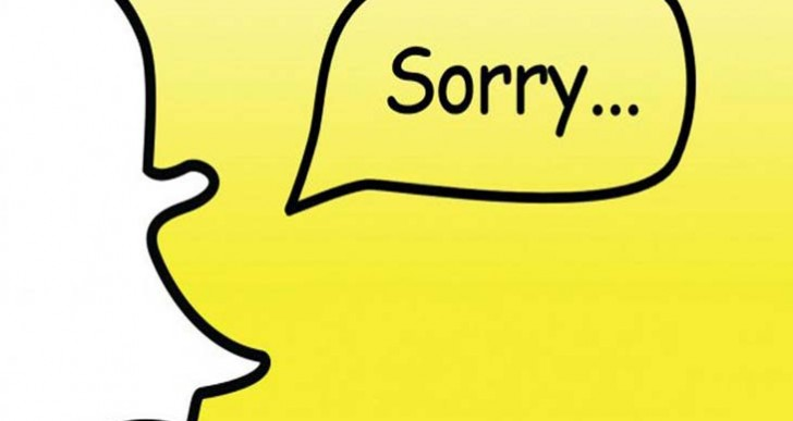 Snapchat down and not working on November 9
