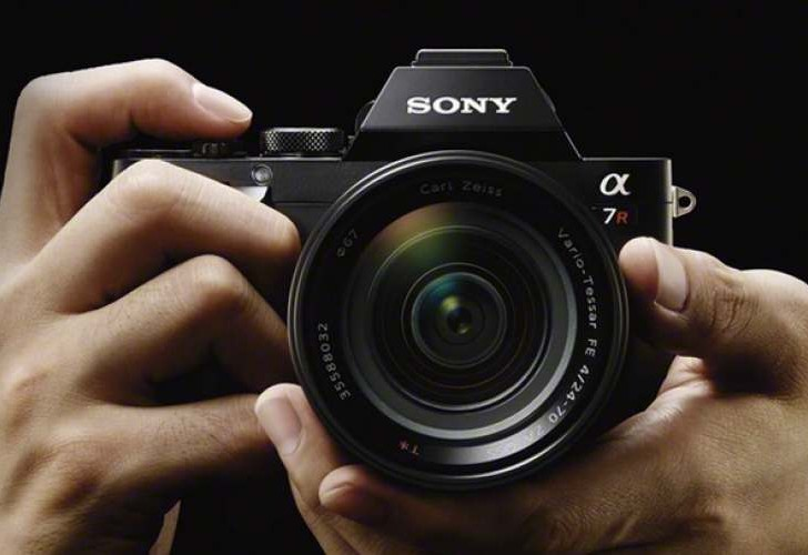 Sony A7 camera in video quality test