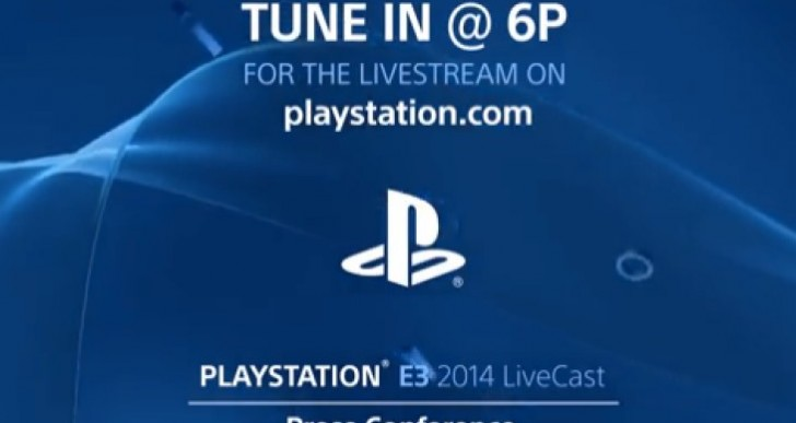 Sony E3 2014 live stream links, UK, US start time