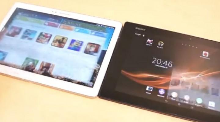 Samsung Galaxy Note 10.1 2014 Vs Xperia Tablet Z review