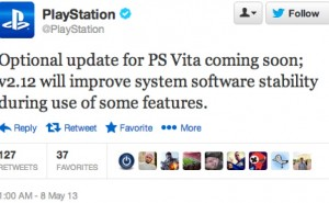 PS Vita 2.12 update without new features again