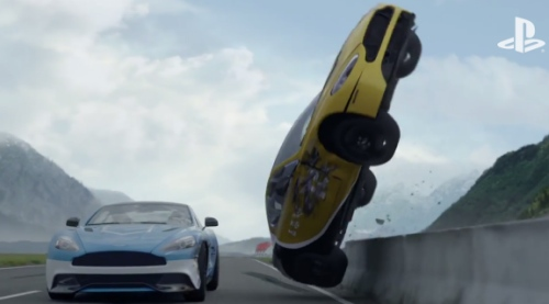 Sony promoting such Drive Club aggression?