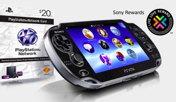 PS Vita hardware push with free PSN credit