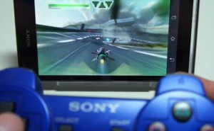 2013 Sony Xperia phones with PS3 DualShock3 video