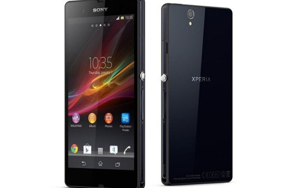 Sony Xperia Z touts battery life potential for 2013