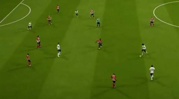 Southampton V Man Utd SIM with Rooney, Carrick goals