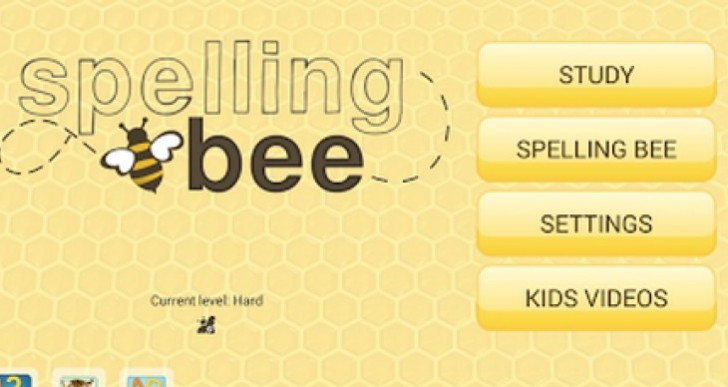 Spelling Bee 2014 app after kabaragoya
