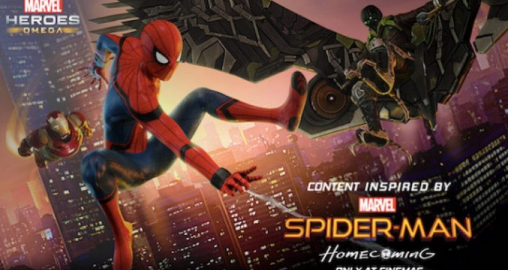 Marvel Heroes Omega Spider-Man Homecoming event live