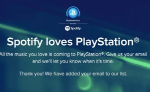 Why Spotify on PS4 will be a game changer
