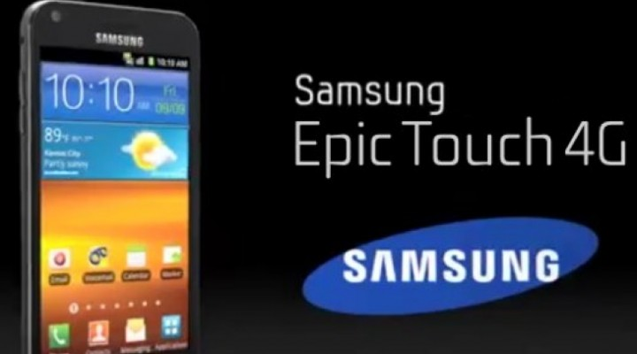 Sprint Epic Touch 4G gets surprise Jelly Bean update