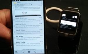 Spritz app with Samsung flagship
