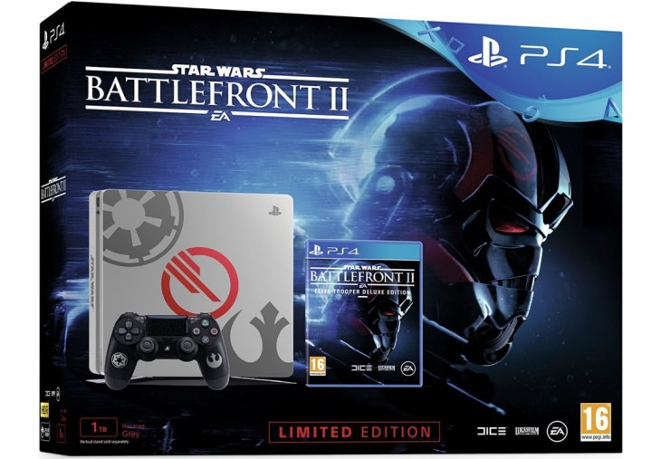 Star Wars Battlefront 2 Deluxe 1tb Ps4 Bundle Best Price Online Product Reviews Net