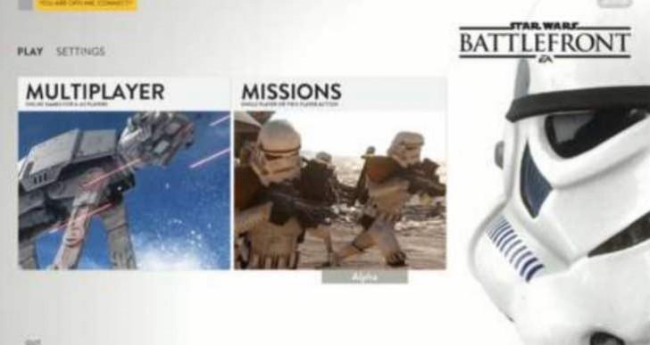 Star Wars Battlefront PC gameplay leak looks glorious