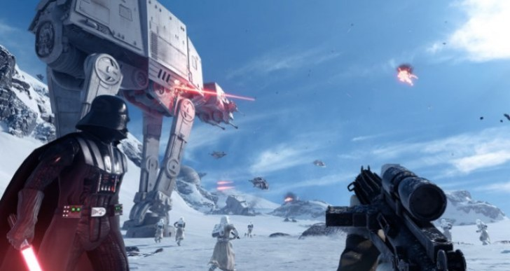Star Wars Battlefront beta sign up on PS4, Xbox One