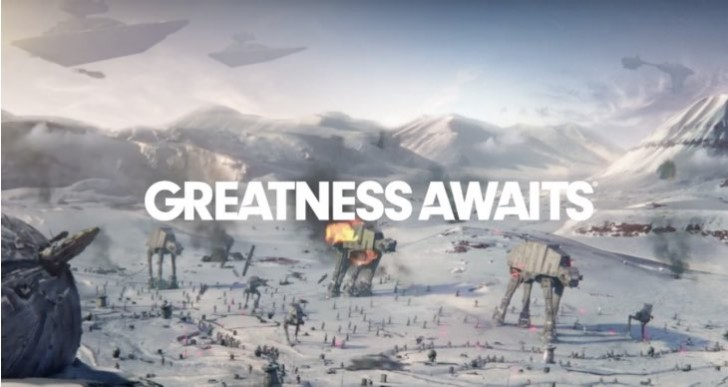 PS4 Holiday 2015 hype with Star Wars Battlefront
