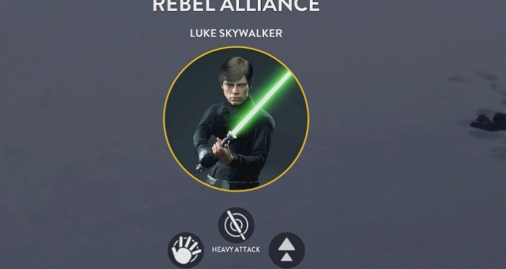 Star Wars Battlefront Luke Vs Vader Hero gameplay