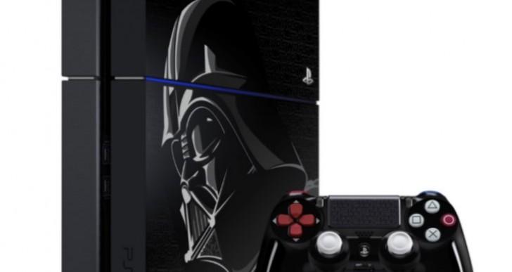 Darth Vader PS4 console 1TB, 500GB pre-order confusion