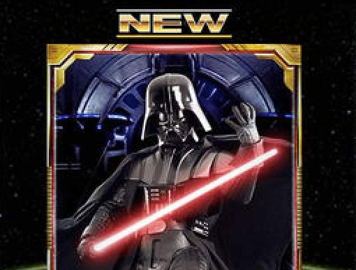 Star Wars Force Commander Anniversary cards