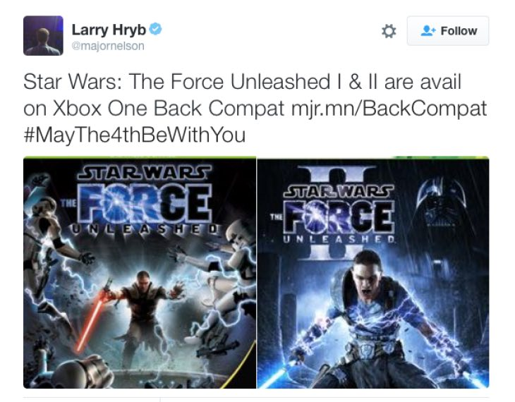 star-wars-force-unleashed-backwards-compatibility