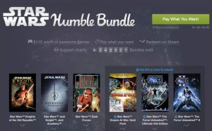 Star Wars Humble Bundle game list excites fans
