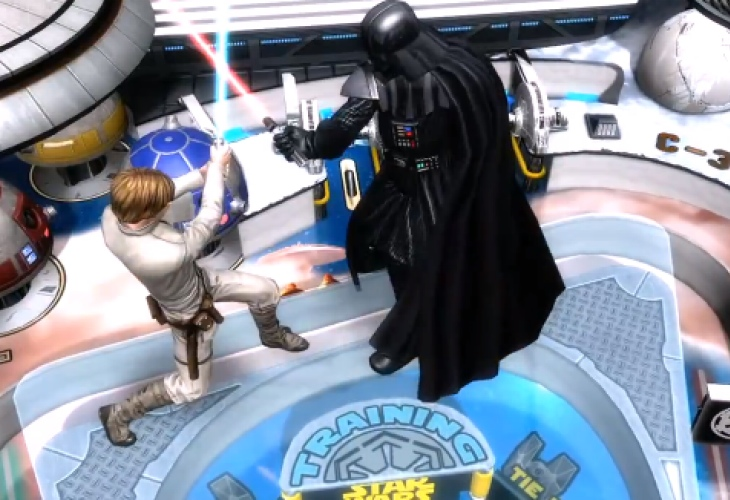 PS Vita joy with Star Wars Pinball