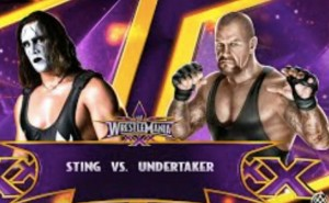 Sting Vs The Undertaker at Wrestlemania 31