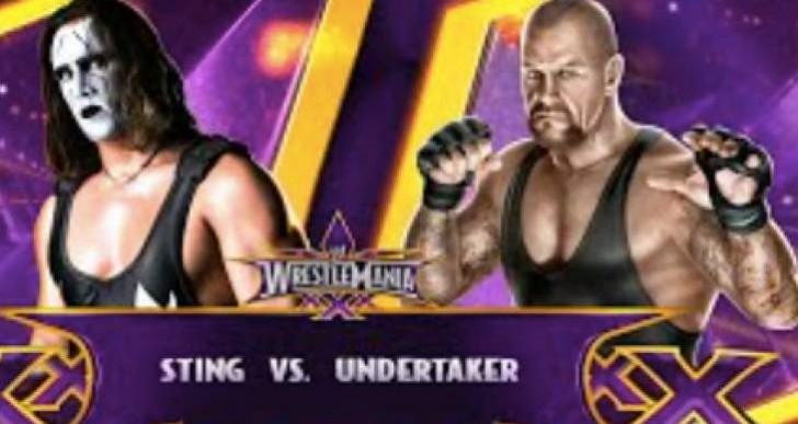 Sting Vs The Undertaker at Wrestlemania 31