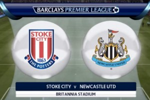 Newcastle FC vs Stoke City match predicted on FIFA 15 PS4