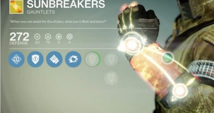 Destiny Sunbreakers review with solar grenade power