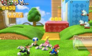 Super Mario 3D World Vs Knack after sales