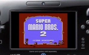 Wii U GamePad meets Super Mario Bros 2