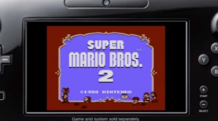 Wii U GamePad meets Super Mario Bros 2