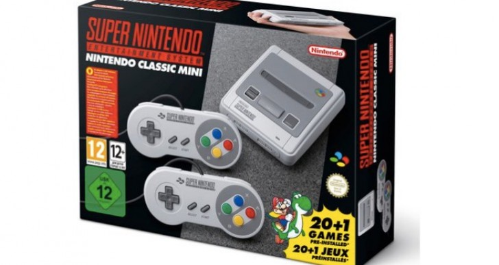SNES Classic Mini Pre-Order UK stock live at Argos