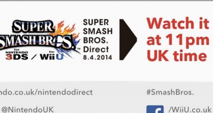 Super Smash Bros release date hype