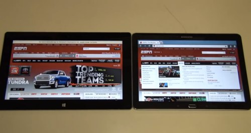 surface-2-vs-galaxy-note-10.1-2014-browsing