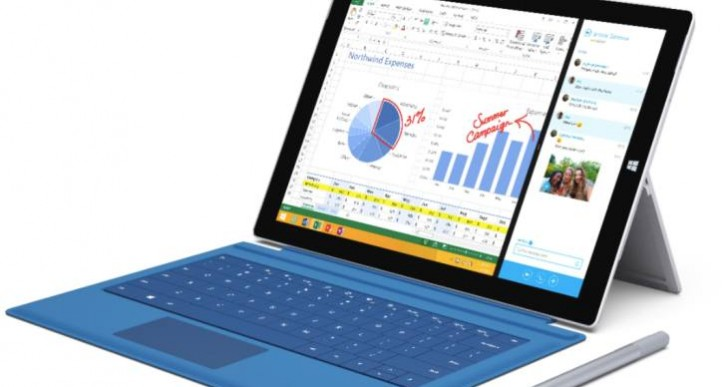 Surface Pro 3 shipping date warning