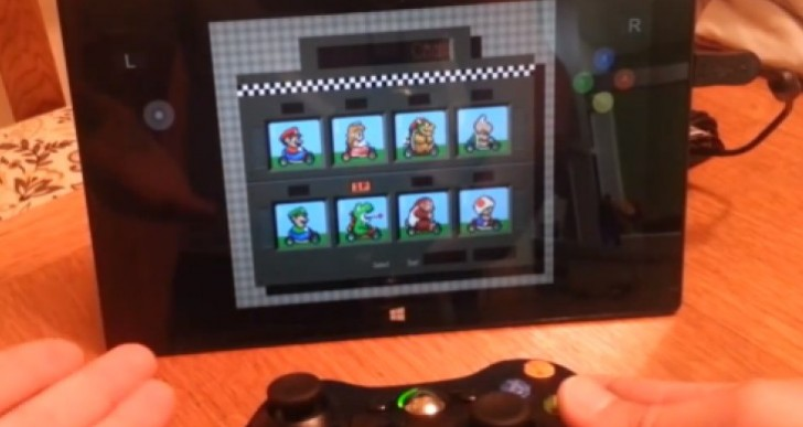 Microsoft Surface Pro with surprise SNES features
