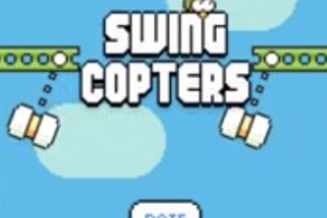 Swing Copters download time for Android, iPhone