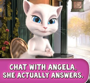 Are you afraid to talk to Angela?