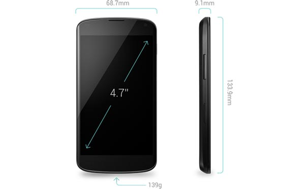 Nexus 4 stock availability at a price in stores