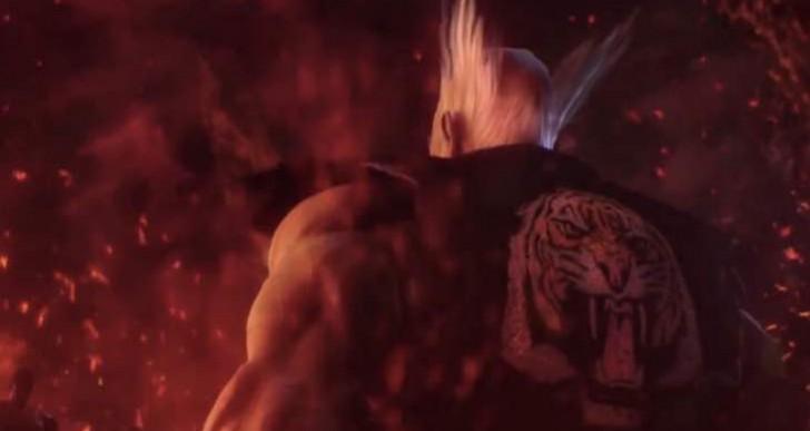 Tekken 7 intro cutscene, Heihachi still alive