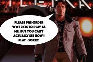 WWE 2K16 Terminator gameplay silence unacceptable