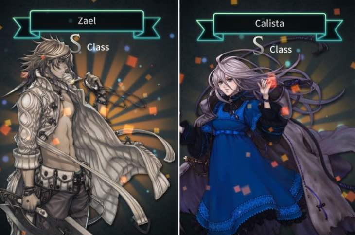 Unlock Terra Battle Calista and Zael from Last Story